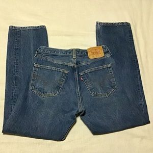 Vintage 90s high waisted Levi 501s